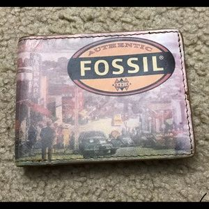 Fossil Wallet for Mens